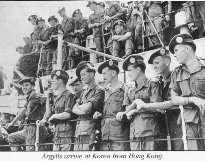 Argyll And Sutherland Highlanders History Korea 1950 To